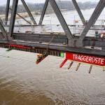 Abbruch alte Rheinbrücke Wesel