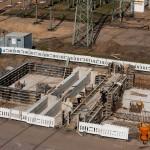 Baustelle 380kV Anlage