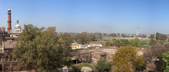 Panorama, Fort, Lahore, Pakistan